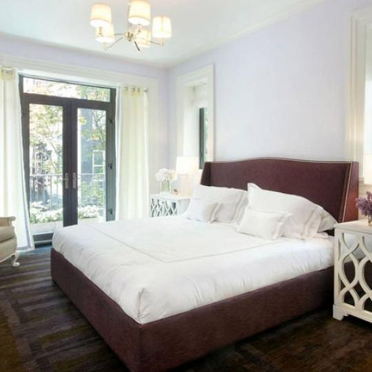 180 East 93rd Street New Construction Condominium Master Bedroom
