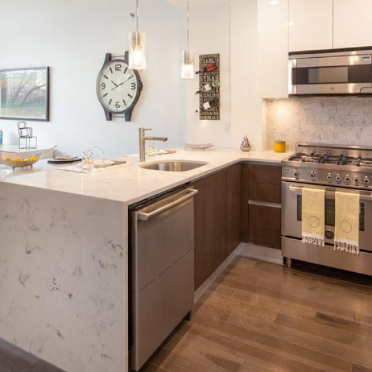 Apartments for sale at Liv@ Murray Park North in NYC - Open Kitchen