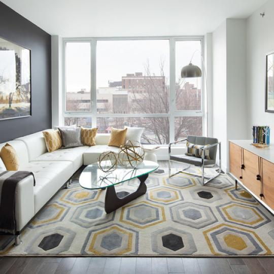 Living Room at 11-35 45th Avenue in Long Island City