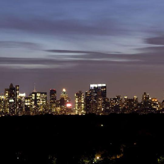 1280 Fifth Avenue New Construction Condominium Night View