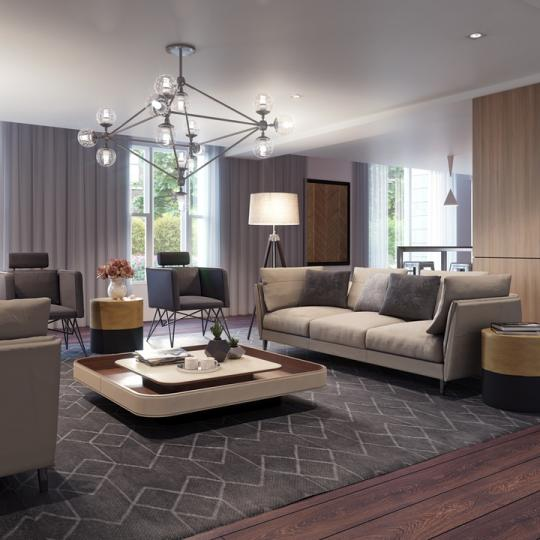 Residence Lounge at Nine52 in Midtown West - Apartments for sale