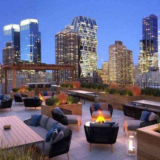 Condos for sale at Nine52 in Manhattan - Rooftop Deck