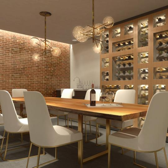 Wine Lounge at 16 West 52nd Street in Mahattan