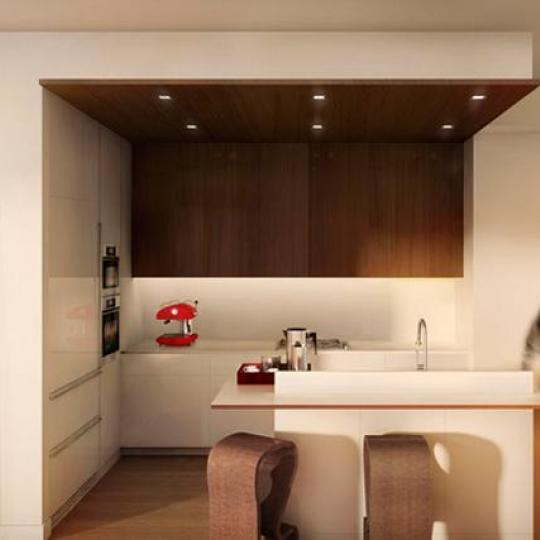 One Jackson Square Kitchen Area - New Conods for Sale NYC