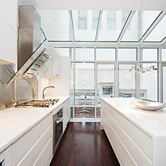 16 Warren Street New Construction Condominium Open Kitchen