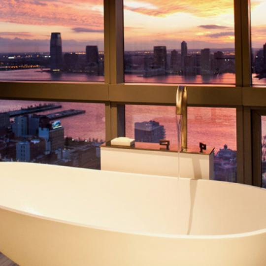 246 Spring Street Penthouse Bathroom - Soho NYC Condominiums