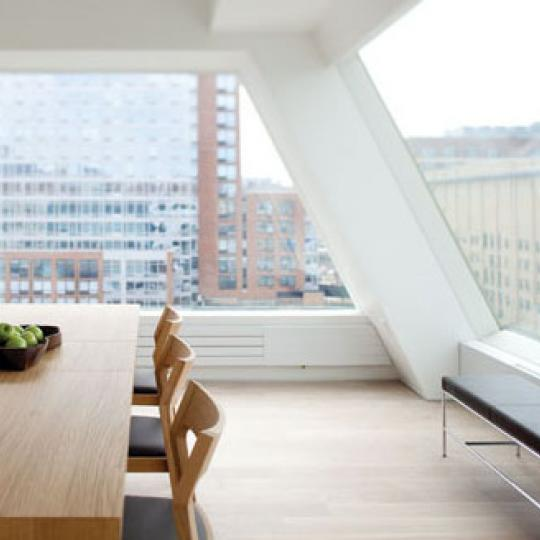459 West 18th Street Penthouse Dining Area - Manhattan New Condos