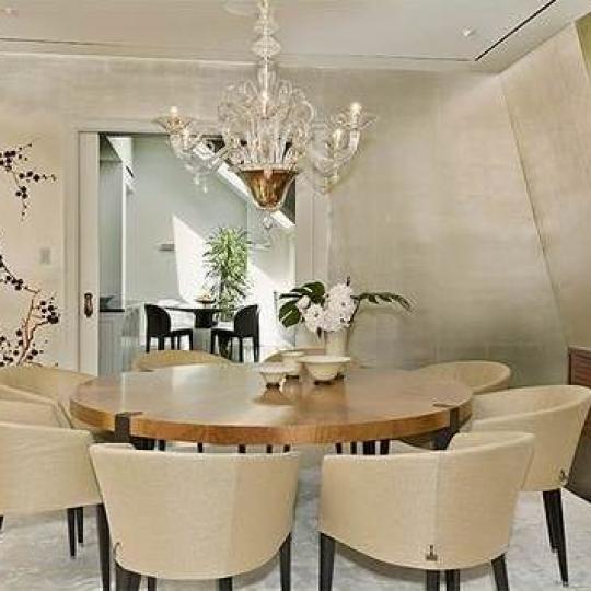 1 Central Park South Condominium Penthouse Dining Area