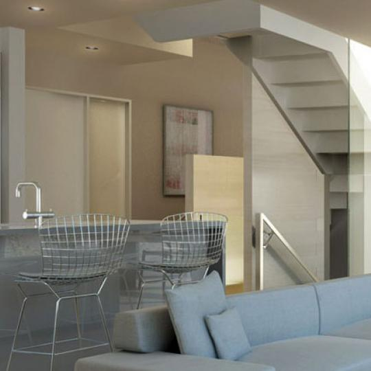 The Dillon Kitchen Area – New Condos for Sale NYC