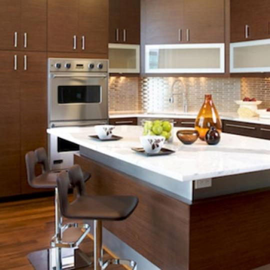 Twenty 9th Park Madison Condominiums - Penthouse Kitchen