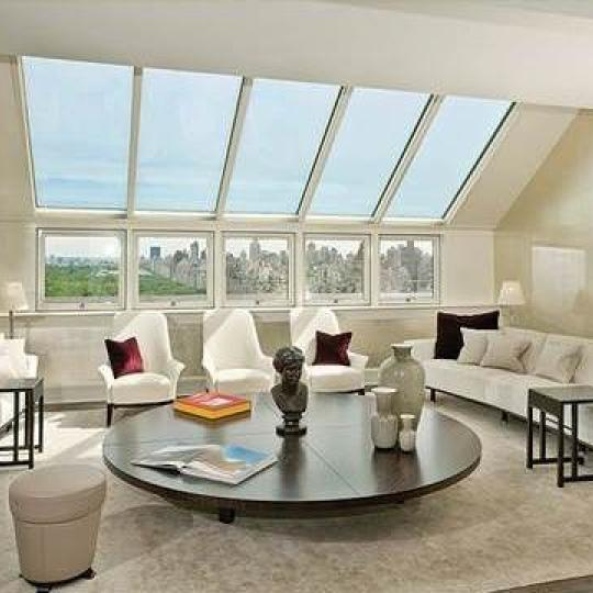 The Plaza Residences Penthouse Living Room - Condominiums for Sale NYC