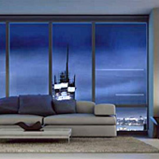 Platinum New Construction Building Living Room - NYC Condos