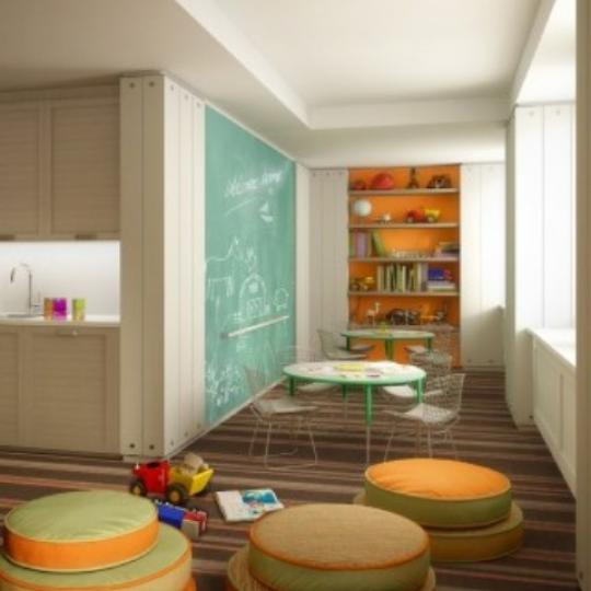 1212 Fifth Avenue New Construction Building Playroom – NYC Condos