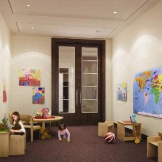100 Riverside Boulevard Playroom – Manhattan New Condos
