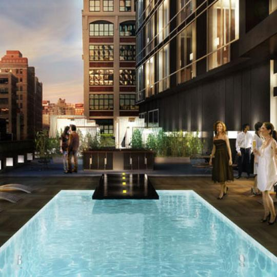 246 Spring Street Pool - NYC Condos for Sale