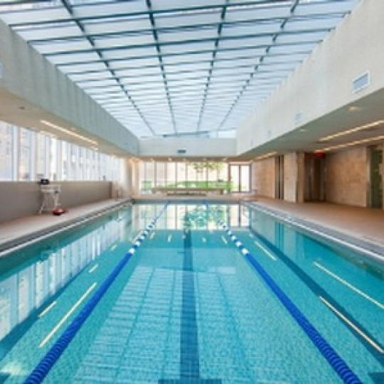 Element Condominium Swimming Pool - 555 West 59th Street Condos for Sale