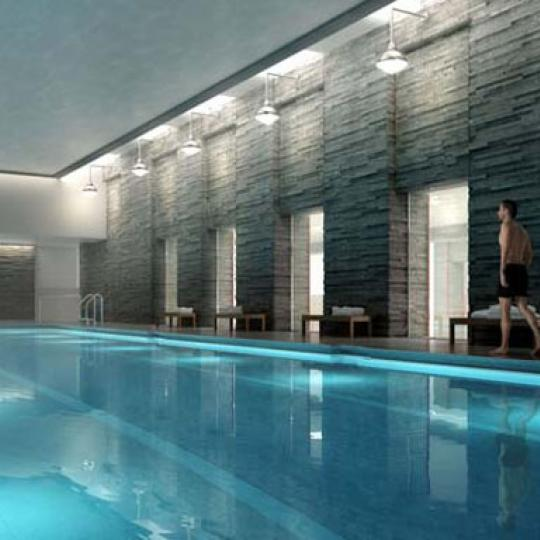 The Aldyn New Construction Building Pool - NYC Condos