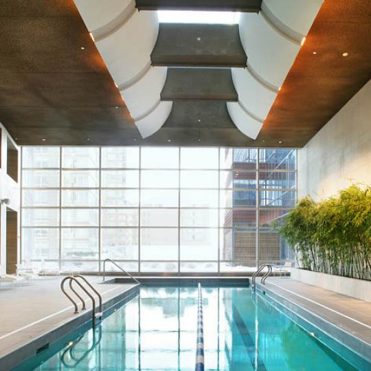 70 Little West Street Pool - NYC Condos for Sale