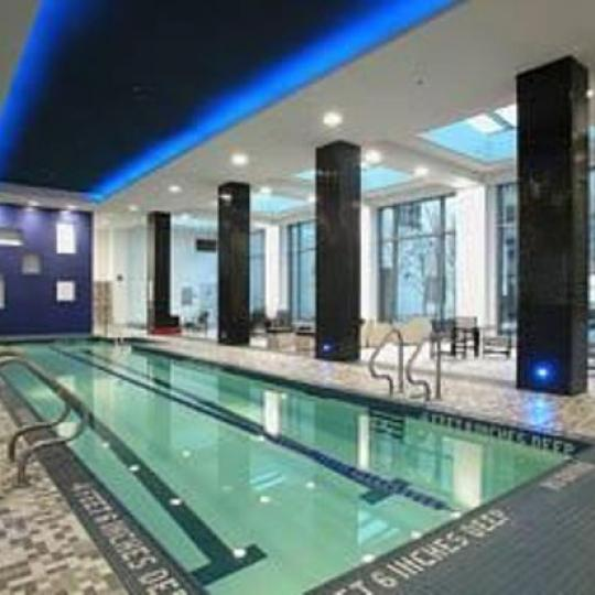 220 Riverside Boulevard Pool - NYC Condos for Sale