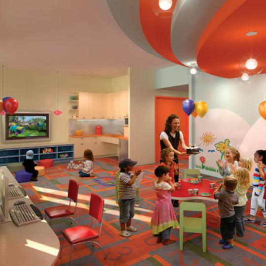 415 Main Street Children's Play room - NYC Condos for Sale
