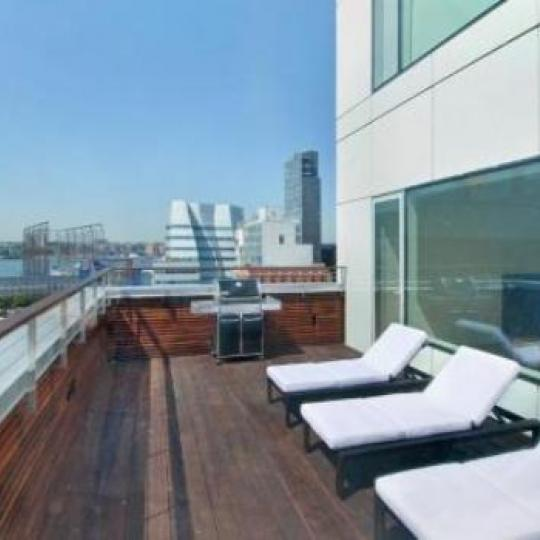 459 West 18th Street Roof Deck - Manhattan Condos for Sale