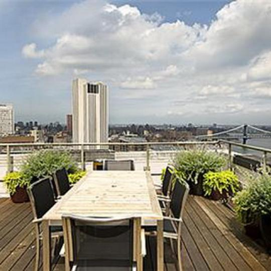 Deco Lofts Roof Top Deck – New Condos for Sale NYC