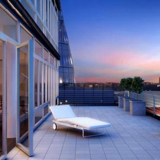 520 West 19th Street Roof Deck Terrace – NYC Condos for Sale