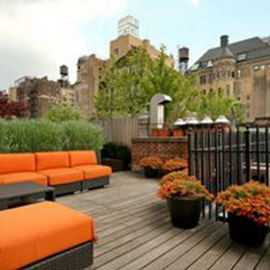 Landmark 17 Condominiums - Roof Deck
