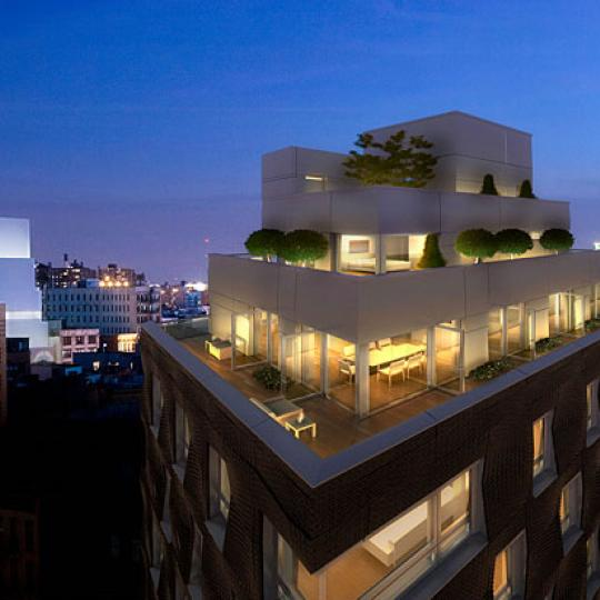 290 Mulberry Street Rooftop Deck – Manhattan Condos for Sale