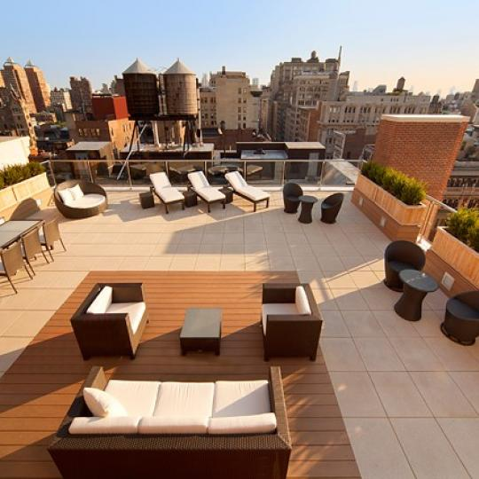 141 Fifth Avenue Roof Deck - Manhattan Condos for Sale