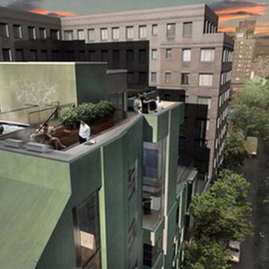385 West 12th Street Rooftop Deck – NYC Condos for Sale