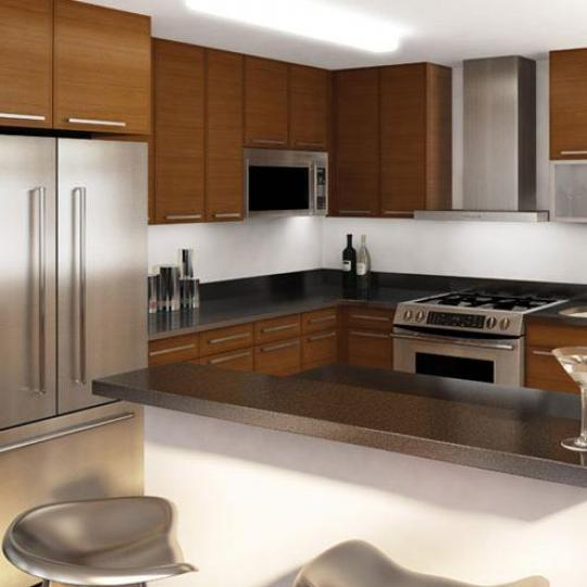301 West 118th Street Kitchen Area - NYC Condos for Sale