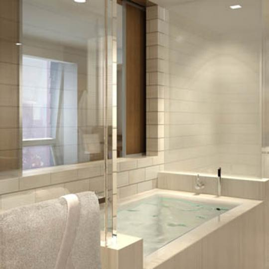 The Setai Fifth Avenue Sauna – Manhattan Condos for Sale