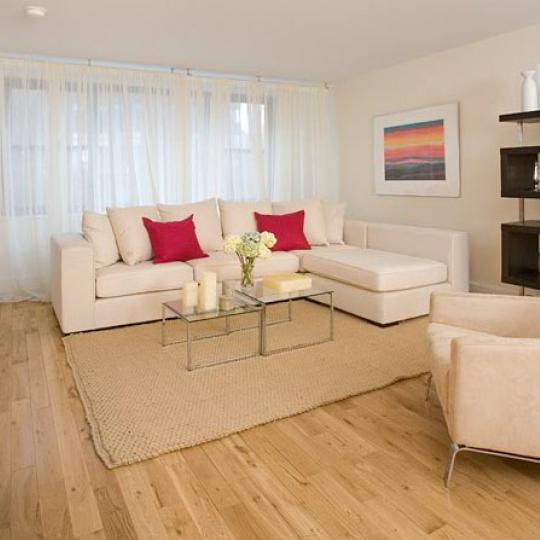 1474 Third Avenue Sitting Area - NYC Condos for Sale