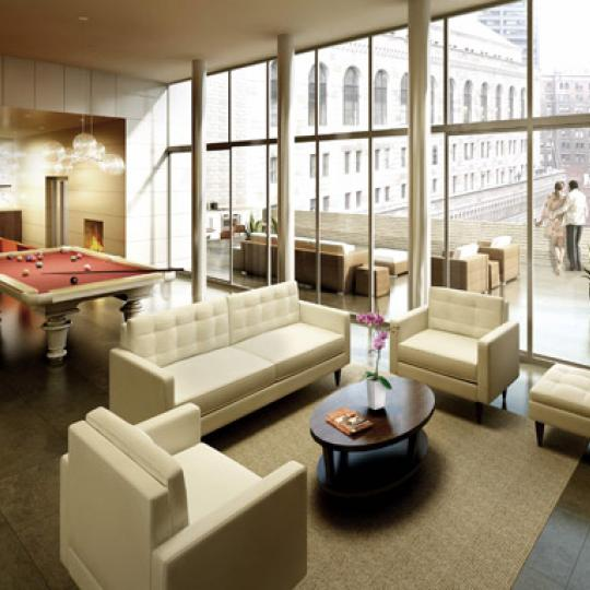 90 William Street Sky Lounge – NYC Condos for Sale