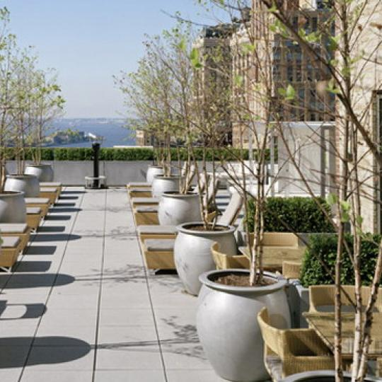 Greenwich Club Residences Sundeck – Condominiums for Sale NYC