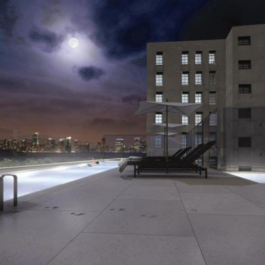 385 West 12th Street New Construction Building Sundeck Pool – NYC Condos