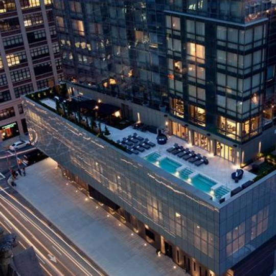246 Spring Street NYC Condos - Terrace at Trump Soho Condominium Hotel