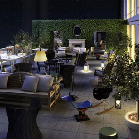 Gramercy Starck New Construction Building Terrace – NYC Condos