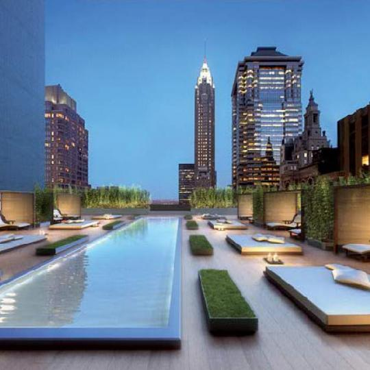 20 Pine Terrace Lounge - Manhattan Condos for Sale