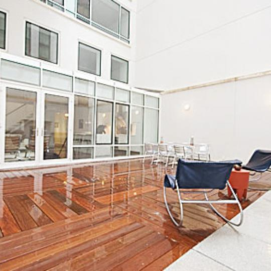 Tribeca Townhomes Terrace - Tribeca NYC Condominiums
