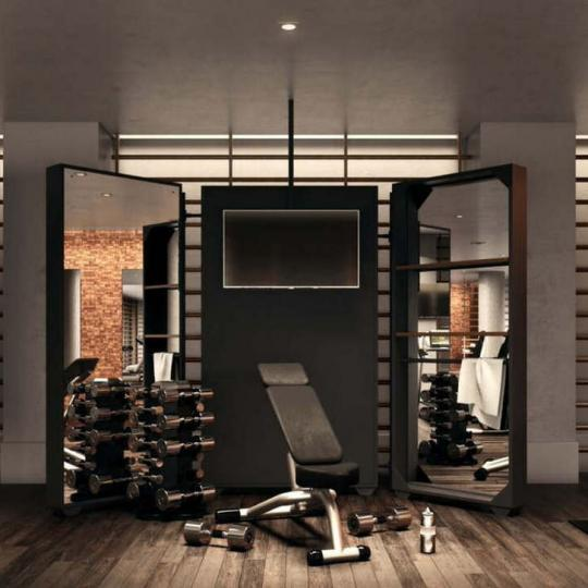 Fitness Center inside The Flynn in Chelsea - Condos for sale