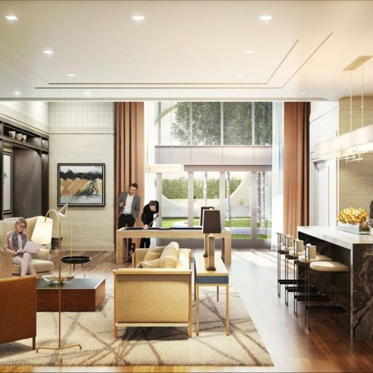 Garden Salon at The Kent in Manhattan - Apartments for sale