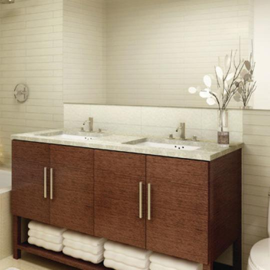 505 West 47th Street NYC Condos - Bathroom at The 505
