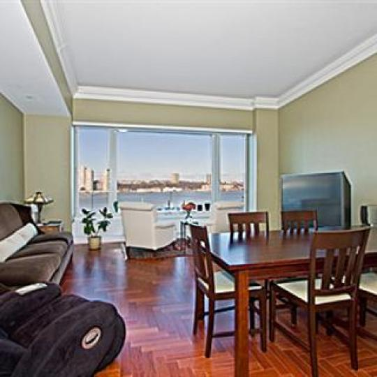 240 Riverside Boulevard Living Room - NYC Condos for Sale