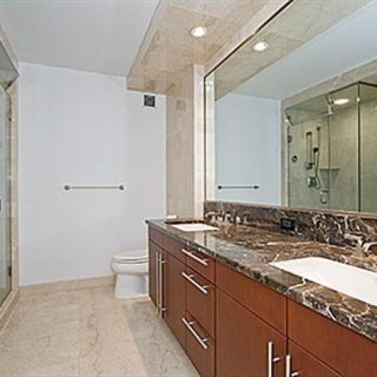The Heritage at Trump Place Bathroom - 240 Riverside Boulevard Condos for Sale