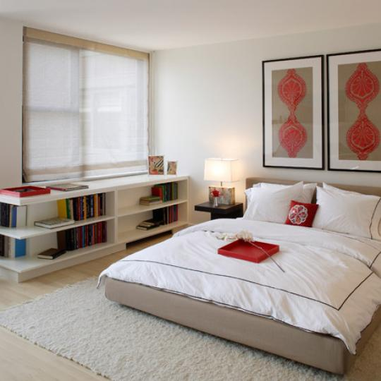 322 West 57th Street Bedroom - Manhattan Condominiums for Sale