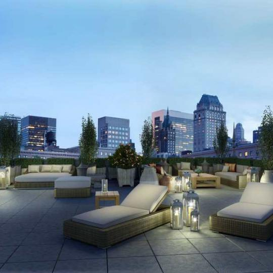 The Touraine - 165 East 65th Street - Patio - Manhattan Condos for Sale