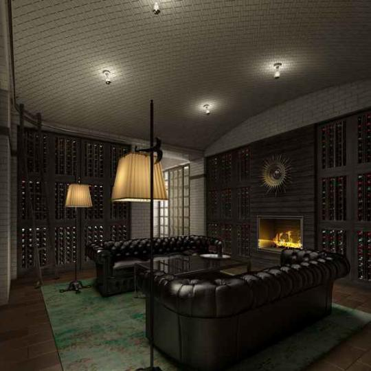 The Touraine - 165 East 65th Street - Wine Cellar - Manhattan Condos for Sale