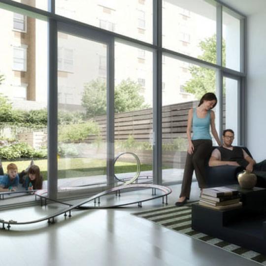 The Dillon Condominiums – Living Room